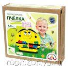 Логическая игра Пчелка,Краснокамская игрушка