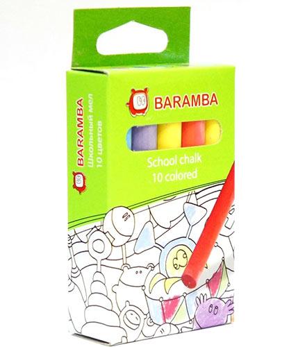 Мелки цветные Baramba купить в интернет-магазине robinzoniya.ru.