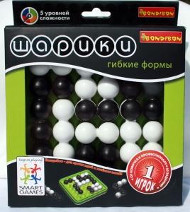 Игра логическая Шарики гибкие формы BONDIBON