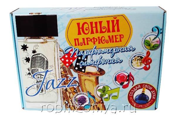 Набор для создания духов Юный парфюмер Джаз купить с доставкой по России в интернет-магазине robinzoniya.ru.