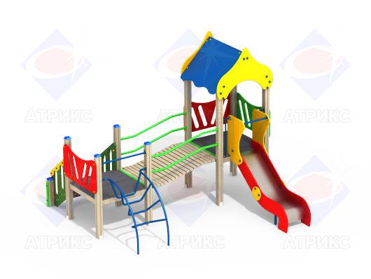 Детский игровой комплекс 2.08 купить в интернет-магазине robinzoniya.ru.