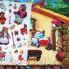 Игра с волшебными наклейками Три медведя