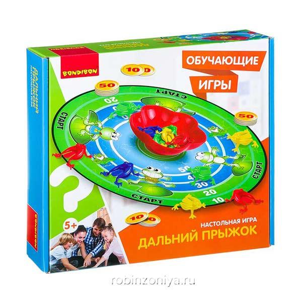 Игра Дальний прыжок Bondibon купить в интернет-магазине robinzoniya.ru.