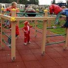 Резиновая плитка для детских площадок 40 мм., 1 кв.м.