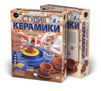 Набор для творчества Студия керамики Кофейный сервиз купить в интернет-магазине robinzoniya.ru.