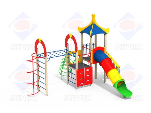 Детский игровой комплекс 1.253 купить в Воронеже в интернет-магазине robinzoniya.ru.
