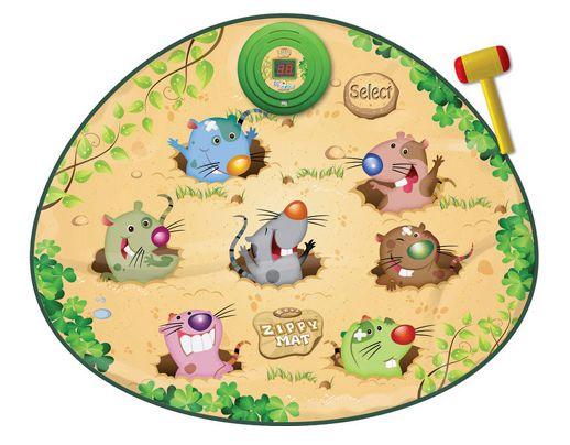 Музыкальный коврик Смешные мышки-колотушки купить в интернет-магазине robinzoniya.ru.