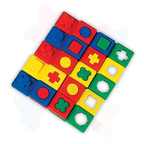Развивающая игра для детей Домино логическое 15 элементов купить в интернет-магазине robinzoniya.ru.