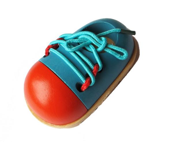 Шнуровка из дерева Ботинок купить в Воронеже в интернет-магазине robinzoniya.ru.