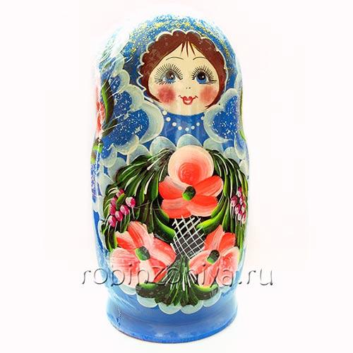 Игрушка матрешка 10 в 1 купить в интернет-магазине robinzoniya.ru.