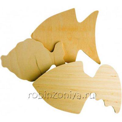 Набор для росписи Золотые рыбки