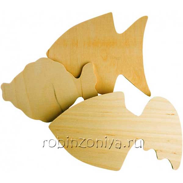 Набор для росписи Золотые рыбки купить в интернет-магазине robinzoniya.ru.
