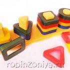 Пирамидка Цветные столбики