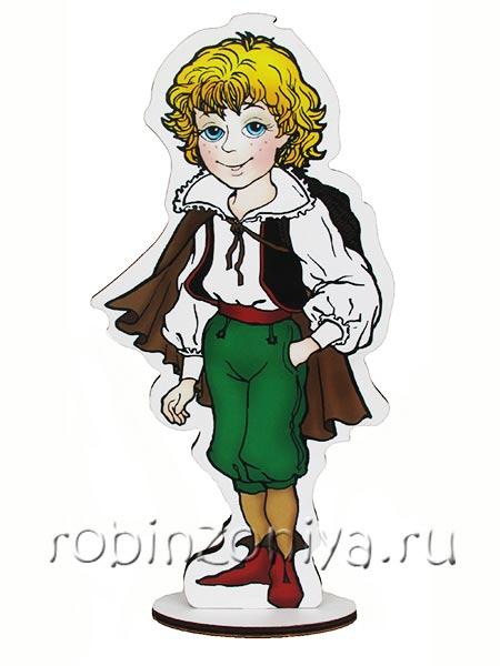 Персонажи к играм Воскобовича Малышь Гео купить в интернет-магазине robinzoniya.ru.