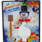 Набор для опытов Волшебный снеговик,Bondibon