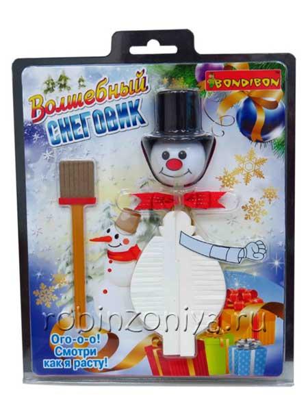 Набор для опытов Волшебный снеговик от Bondibon купить можно в интернет-магазине robinzoniya.ru.