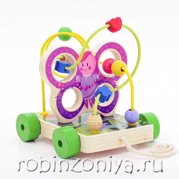 игрушка лабиринт деревянный