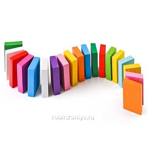 Томик Цветные плашки купить в интернет-магазине robinzoniya.ru.