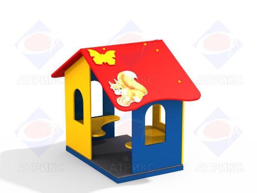 Домик беседка МФ 5.093 для детской площадки купить в Воронеже в интернет-магазине robinzoniya.ru.