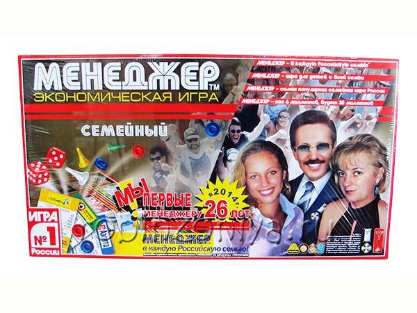 Настольная игра Менеджер Семейный купить в интернет-магазине robinzoniya.ru.