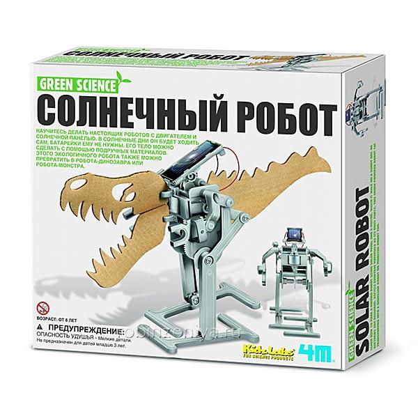 Конструктор собери робота 4М купить в магазине Робинзония