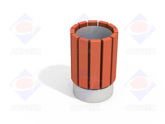 Урна деревянная круглая МФ 6.065 купить в Воронеже в интернет-магазине robinzoniya.ru.