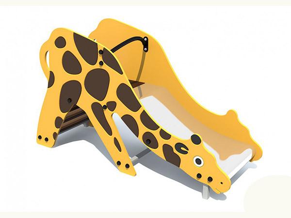 Горка для детской площадки в виде жирафа купить в Воронеже в интернет-магазине robinzoniya.ru.