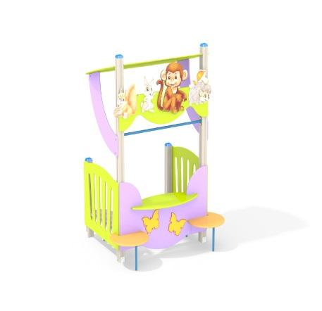 Модуль для театральных представлений для детского сада купить в интернет-магазине robinzoniya.ru.