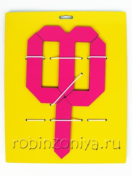 Игры Воскобовича конструктор букв 3 купить в интернет-магазине robinzoniya.ru.