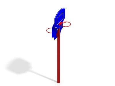 Стоика баскетбольная двойная СО 5.03
