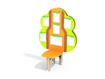 Модуль для размещения рекламы для детских садов и развивающих центров купить в Воронеже в интернет-магазине robinzoniya.ru.