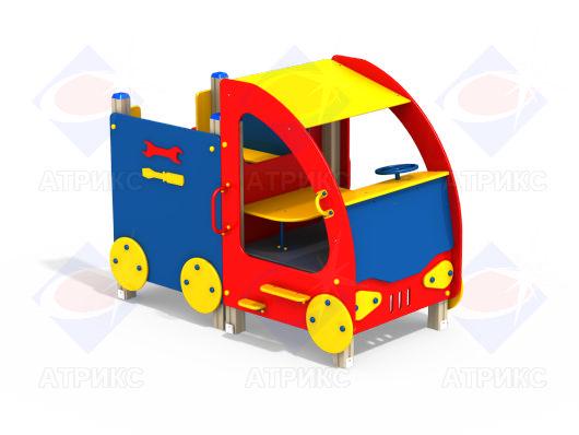 Машинка для детской площадки МФ 4.01 в интернет-магазине robinzoniya.ru.