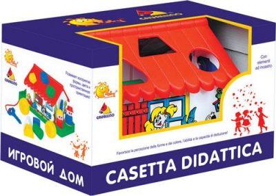 Игровой дом в коробке (сортер)