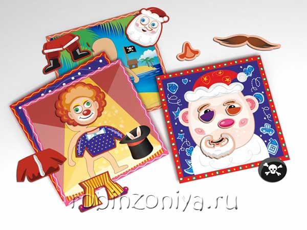 Магнитное переодевание Мальчик Magneticus купить с доставкой по России в интернет-магазине robinzoniya.ru.