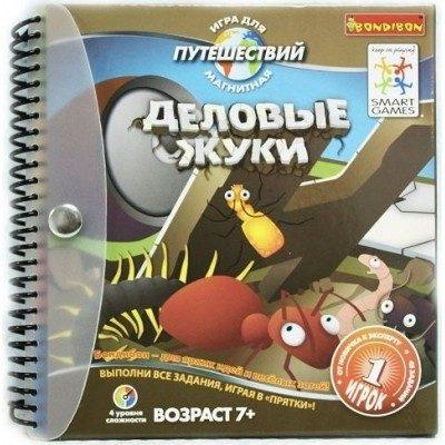 Игра магнитная для путешествий Деловые жуки BONDIBON