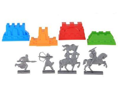 Набор формочек Крепость с фигурками,Плэйдорадо