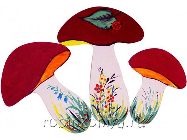 Набор для росписи Грибы от Пелси купить в интернет-магазине robinzoniya.ru.
