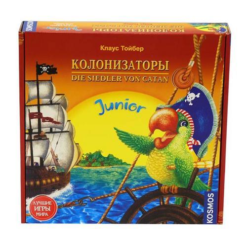 Настольная игра для детей Колонизаторы Юниор купить в интернет-магазине robinzoniya.ru.