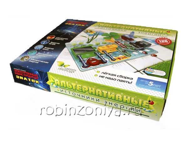 Конструктор Знаток Альтернативные источники энергии купить в интернет-магазине robinzoniya.ru.