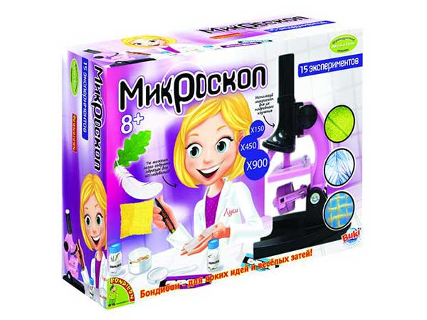 Микроскоп детский от Bondibon купить с доставкой по России в интернет-магазине robinzoniya.ru.