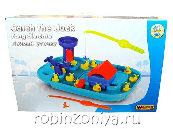 Игрушка для купания Поймай уточку купить с доставкой по России в интернет-магазине robinzoniya.ru.