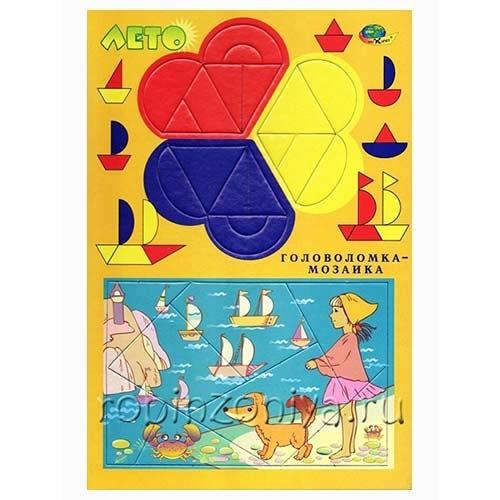 Головоломка мозаика Лето купить в интернет-магазине robinzoniya.ru.