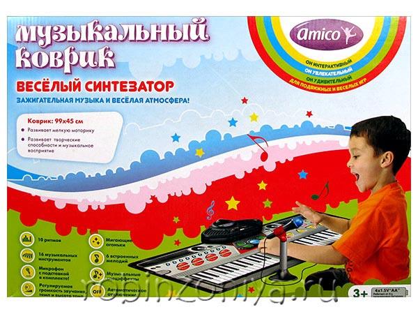 музыкальный развивающий коврик купить в Робинзонии