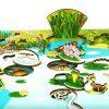 Рамка с вкладышами Обитатели пруда