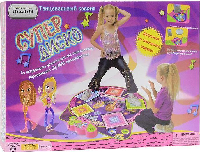 Музыкальный коврик для детей Супер диско купить в интернет-магазине robinzoniya.ru.