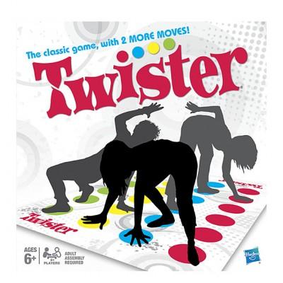 Напольная игра Твистер 2 от Hasbro купить в интернет-магазине robinzoniya.ru.