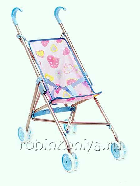 Кукольная коляска Amico 16412/9302 купить с доставкой по России в интернет-магазине robinzoniya.ru.