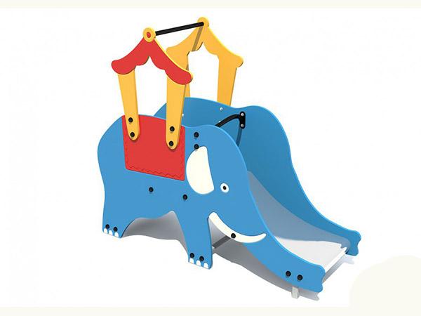 Горка для детской площадки в виде слоника купить в Воронеже в интернет-магазине robinzoniya.ru.