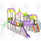 Детский игровой комплекс 3.214 Джунгли H=1500