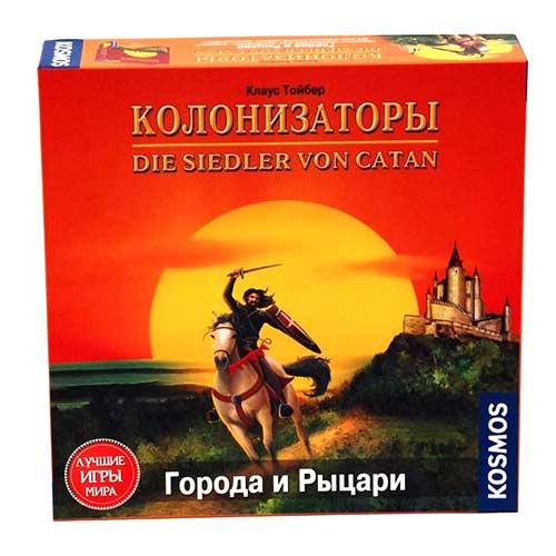 Игра Колонизаторы Города и рыцари купить в интернет-магазине robinzoniya.ru.